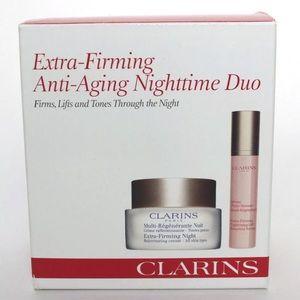 Clarins Extra Firming Anti Aging Nighttime Duo NIB
